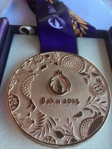 baku bronze medal