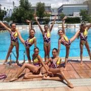 4η θέση στο Πανελλήνιο Πρωτάθλημα Κορασίδων, Συγχρονισμένης