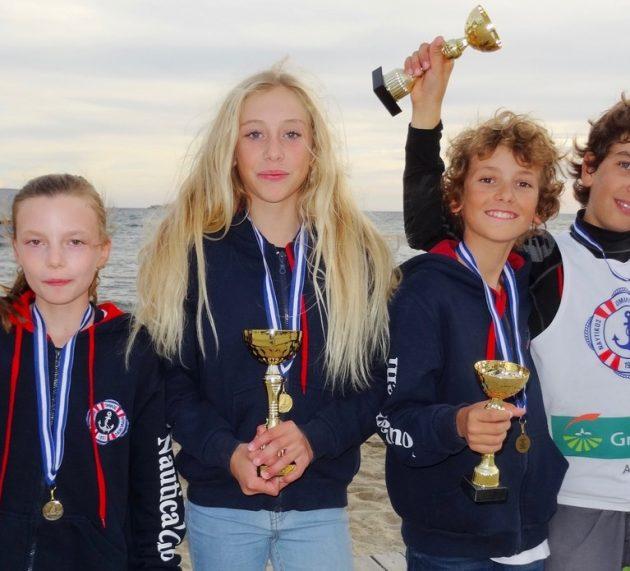 4 μετάλλια τα Optimist στο Λαγονήσι!