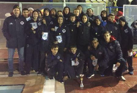 """Τουρνουά παίδων """"4th Nireas Lamias International Christmas Cup"""""""