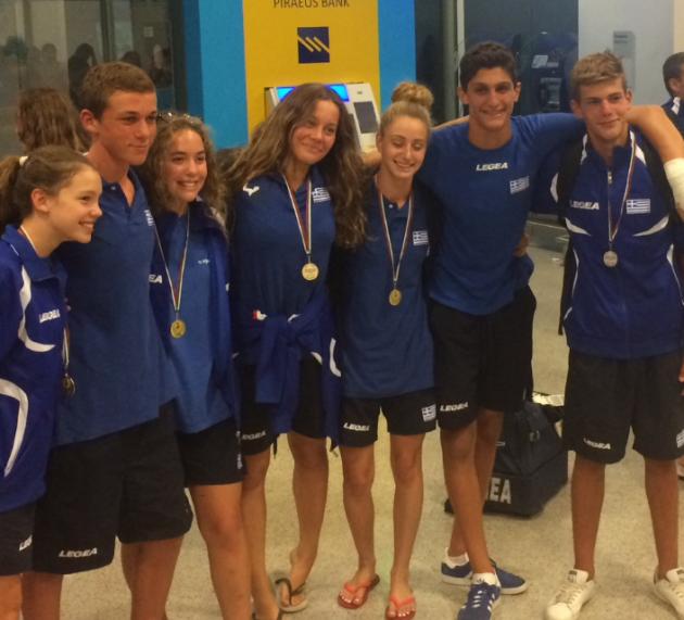 Χρυσό μετάλλιο οι κορασίδες στους Βαλκανικούς και αργυρό οι παίδες με την εθνική!