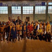 Οι ομάδες των σχολών υδατοσφαίρισης για προετοιμασία στην Πάτρα