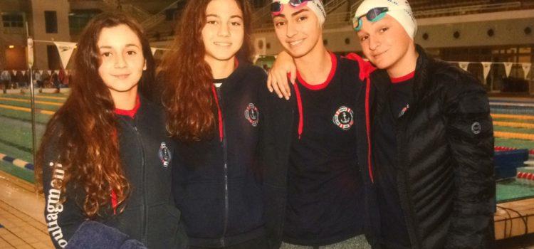 6 Μετάλλια στους χειμερινούς αγώνες κολύμβησης ο Ν.Ο.Β