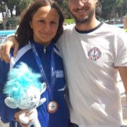 Μετάλλιο με την Εθνική ομάδα η Δάφνη Κουρουνιώτη