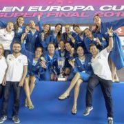 Πρώτη θέση στο Len Europa Cup για την Εθνική πόλο γυναικών