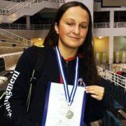 Η Δάφνη Κουρουνιώτη στην Κύπρο με την Εθνική Ομάδα Κολύμβησης