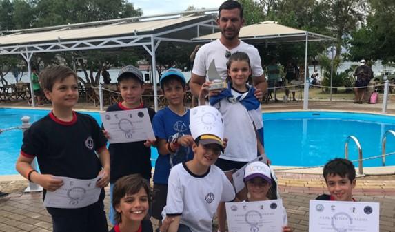 2η στο Πανελλήνιο Κύπελλο Optimist 11χρονων η Αλεξία Γουίντερς