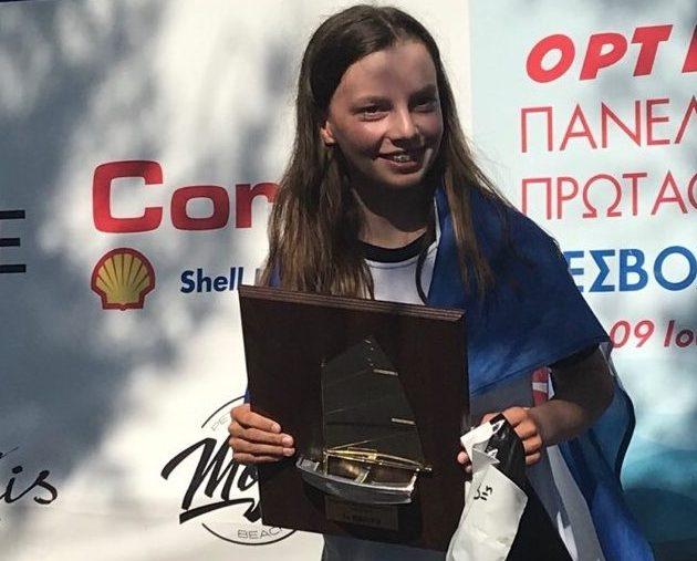 Πρωταθλήτρια Ελλάδος η Ελισάβετ Γουίντερς