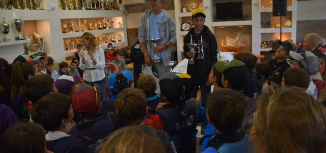Αγώνας medal race για σκάφη Optimist