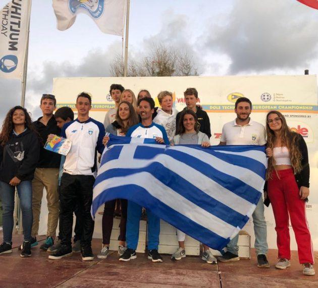 Ευρωπαϊκό πρωτάθλημα νεότητας ιστιοσανίδας – Βάρκιζα 2018