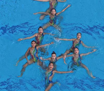 Ανοιχτή επίδειξη Καλλιτεχνικής Κολύμβησης