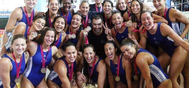 Κυπελλούχος Ελλάδος η γυναικεία ομάδα υδατοσφαίρισης του Ν.Ο. Βουλιαγμένης