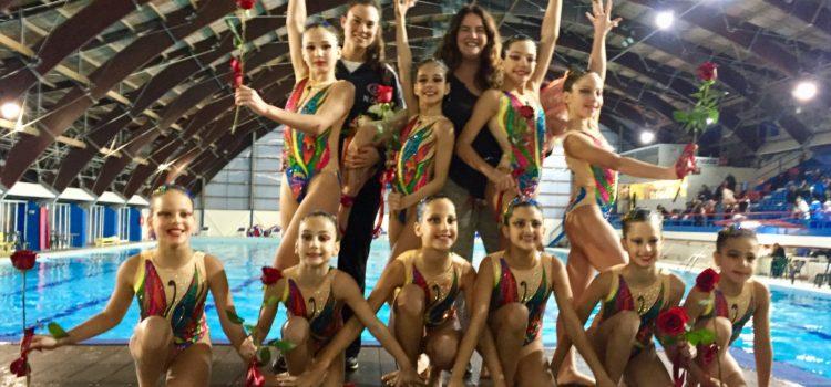 Ο Ν.Ο.Β. στους Χειμερινούς Αγώνες Καλλιτεχνικής Κολύμβησης Κορασίδων Β'