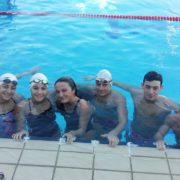 Πολλές επιτυχίες για το τμήμα αγωνιστικής κολύμβησης του Ν.Ο.Β.