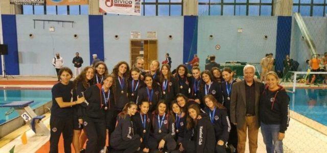 Η ομάδα υδατοσφαίρισης Νέων Γυναικών του Ν.Ο.Β. 3η στο Πανελλήνιο Πρωτάθλημα