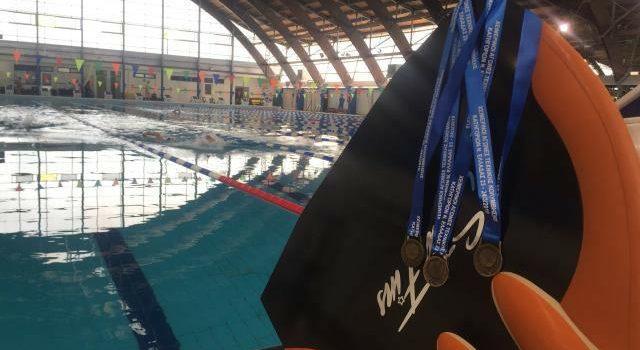 Εξαιρετική εμφάνιση οι αθλητές του Ν.Ο.Β. στο Χειμερινό Πρωτάθλημα Τεχνικής Κολύμβησης