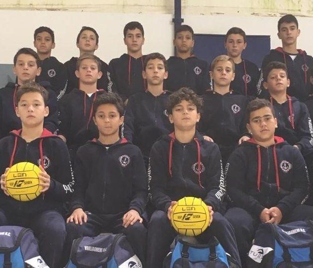 Αήττητη η ομάδα υδατοσφαίρισης Μίνι Παίδων στη Β' Φάση του Πρωταθλήματος κατέκτησε την 1η θέση στον Όμιλό της