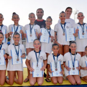 Μεγάλη επιτυχία στο Πανελλήνιο Πρωτάθλημα Καλλιτεχνικής Κολύμβησης Κορασίδων Β' 2019