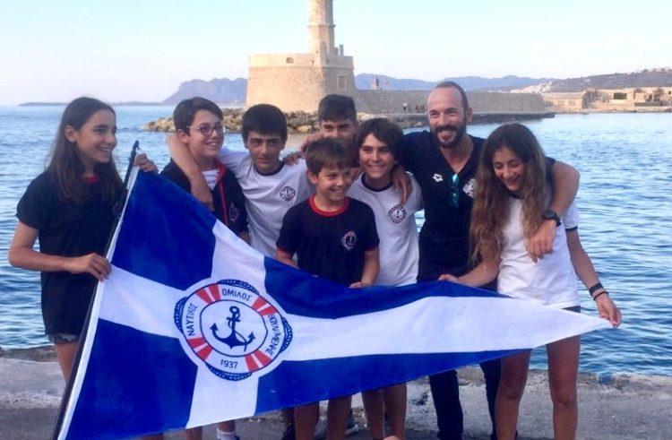 Εξαιρετικά αποτελέσματα για την ομάδα ιστιοπλοΐας Optimist στο Πανελλήνιο Πρωτάθλημα στα Χανιά