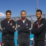 Χ. Αφρουδάκης – Κ.Ποντικέας – Κ.Γουβής ανανέωσαν στην ομάδα υδατοσφαίρισης του Ν.Ο.Β.