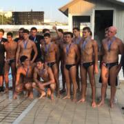 Ασημένιο μετάλλιο για τον Ν.Ο.Β. στο Πρωτάθλημα Υδατοσφαίρισης Εφήβων