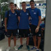 Στην Εθνική Ομάδα Υδατοσφαίρισης Εφήβων τρεις αθλητές του Ναυτικού Ομίλου Βουλιαγμένης