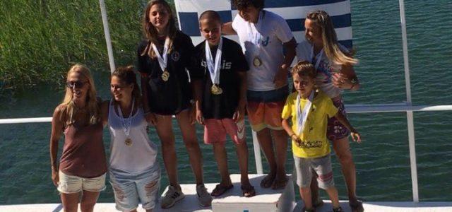 Μεγάλη επιτυχία και Πανελλήνια ρεκόρ από τους αθλητές του Ν.Ο.Β. στο Πανελλήνιο Πρωτάθλημα Θαλασσίου Σκι στο Αγρίνιο